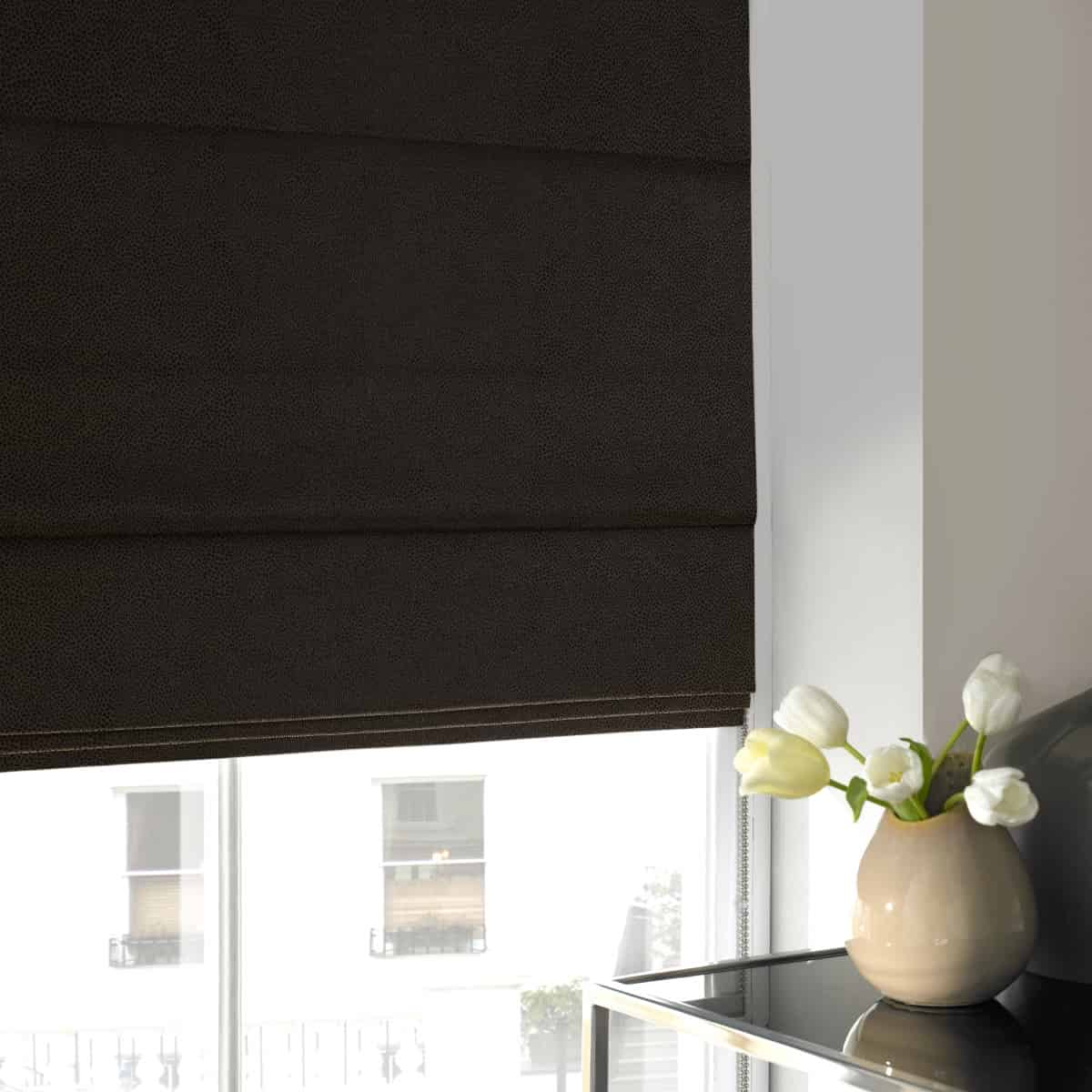 blinds window dark house with brown ambria beautiful roman